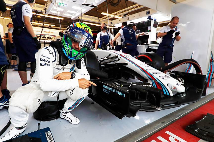 F. Massa atsisveikinimas Brazilijoje: ačiū už viską