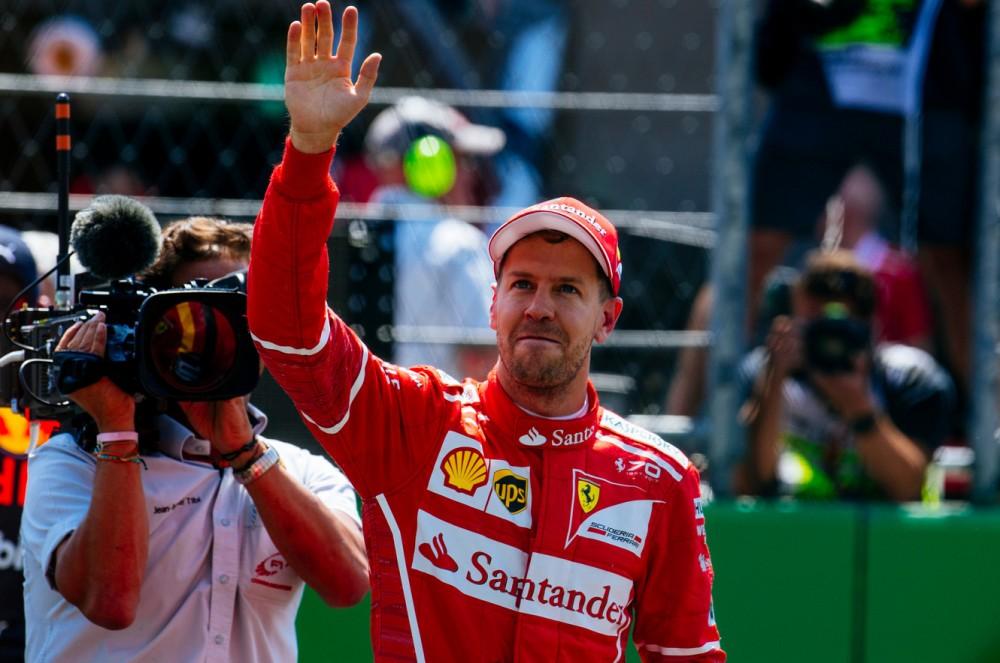 Lenktynės Brazilijoje baigėsi S. Vettelio pergale