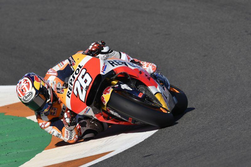 MotoGP. Valensijoje nugalėjo D. Pedrosa, M. Marquezas tapo čempionu