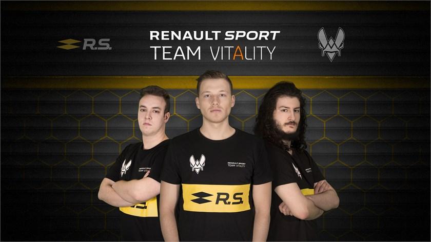"""""""Renault"""" pristatė savo e-sporto komandą"""