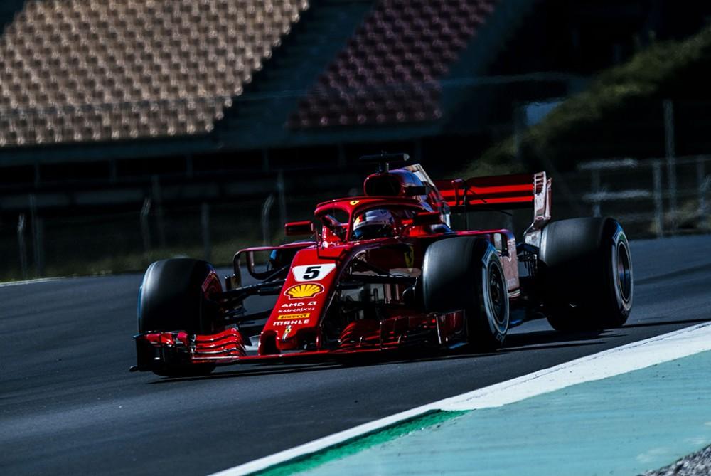 S. Vettelis nesureikšmina Barselonoje pademonstruoto greičio
