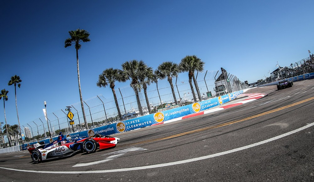 "IndyCar. St. Petersburge prasideda 2018 m. ""IndyCar"" sezonas"