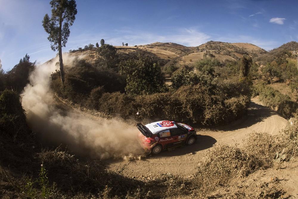 WRC. S. Loebas tapo Meksikos ralio lyderiu