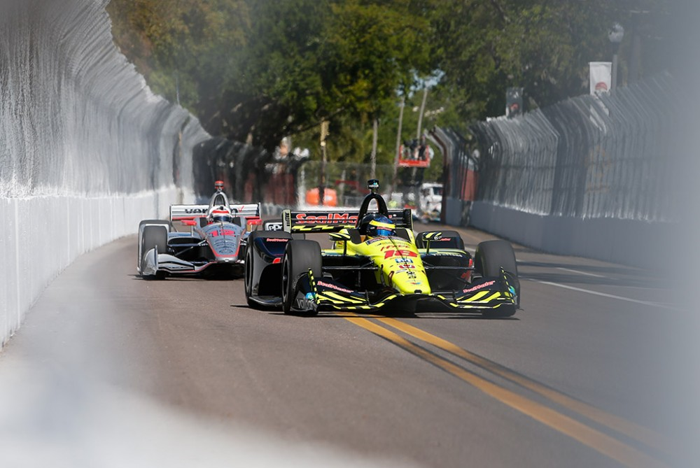 IndyCar. Drama St. Petersburge baigėsi S. Bourdais pergale