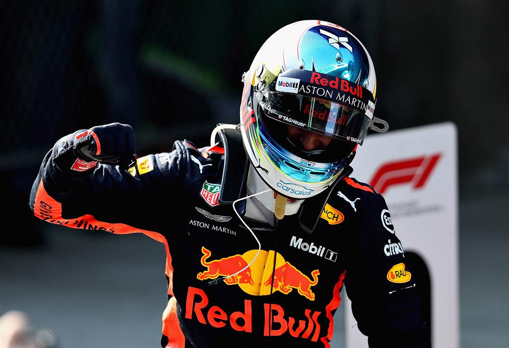 D. Ricciardo: panašu, kad niekada nelaimiu nuobodžių lenktynių