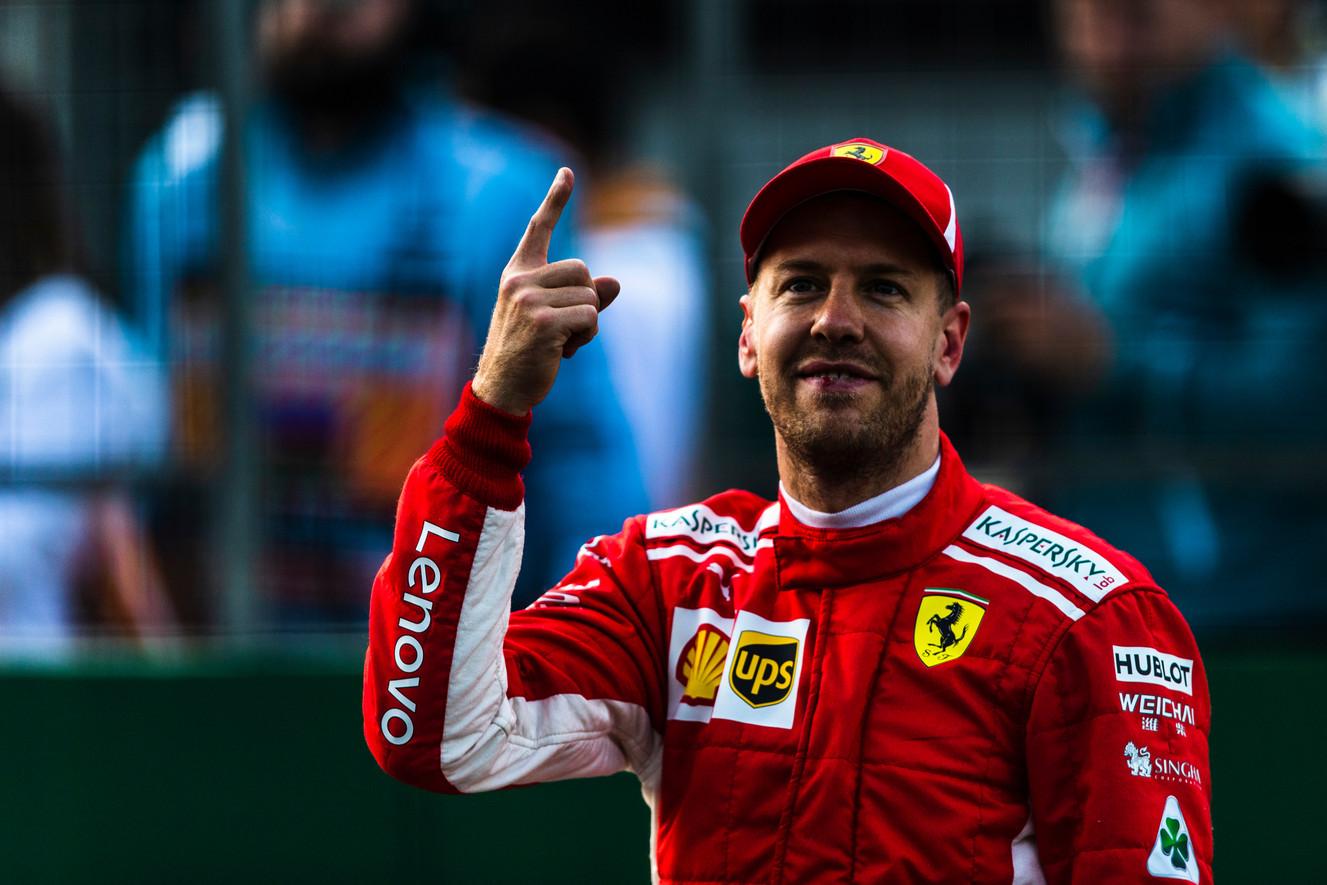 F-1 istorija – palanki S. Vetteliui