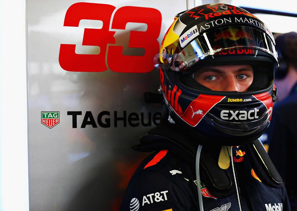 C. Horneris: M. Verstappenas nusiramins po podiumo Ispanijoje