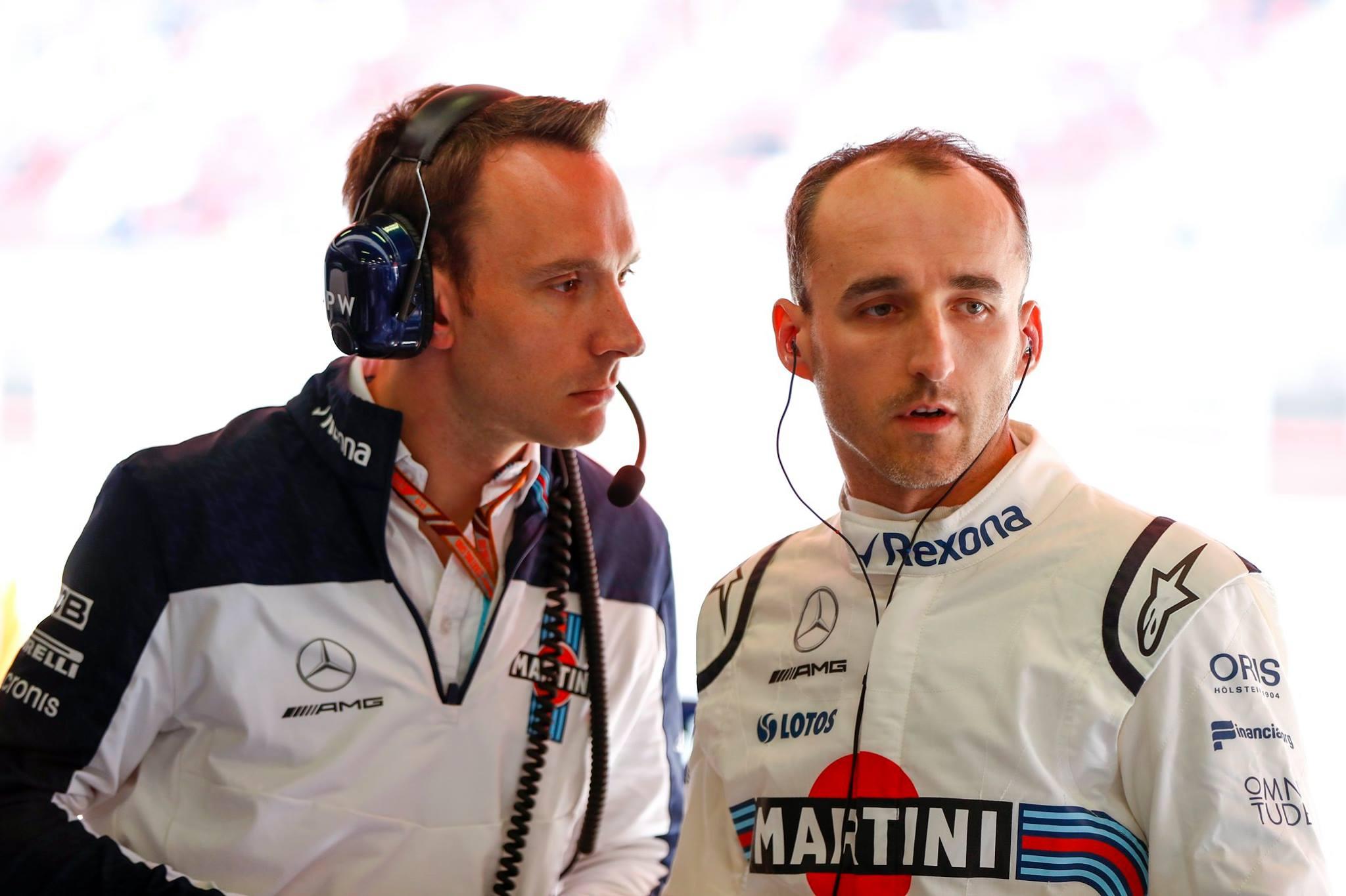 """R. Kubica: svarbiausias tikslas - išlikti """"Formulėje-1"""""""