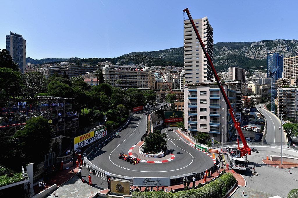 Monako GP: važiavimų tvarkaraštis