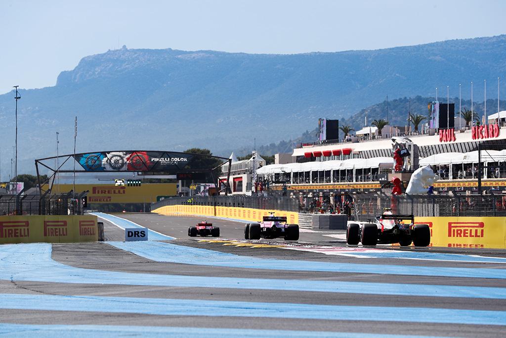 Prancūzijos GP: penktadienio treniruotė Nr. 1