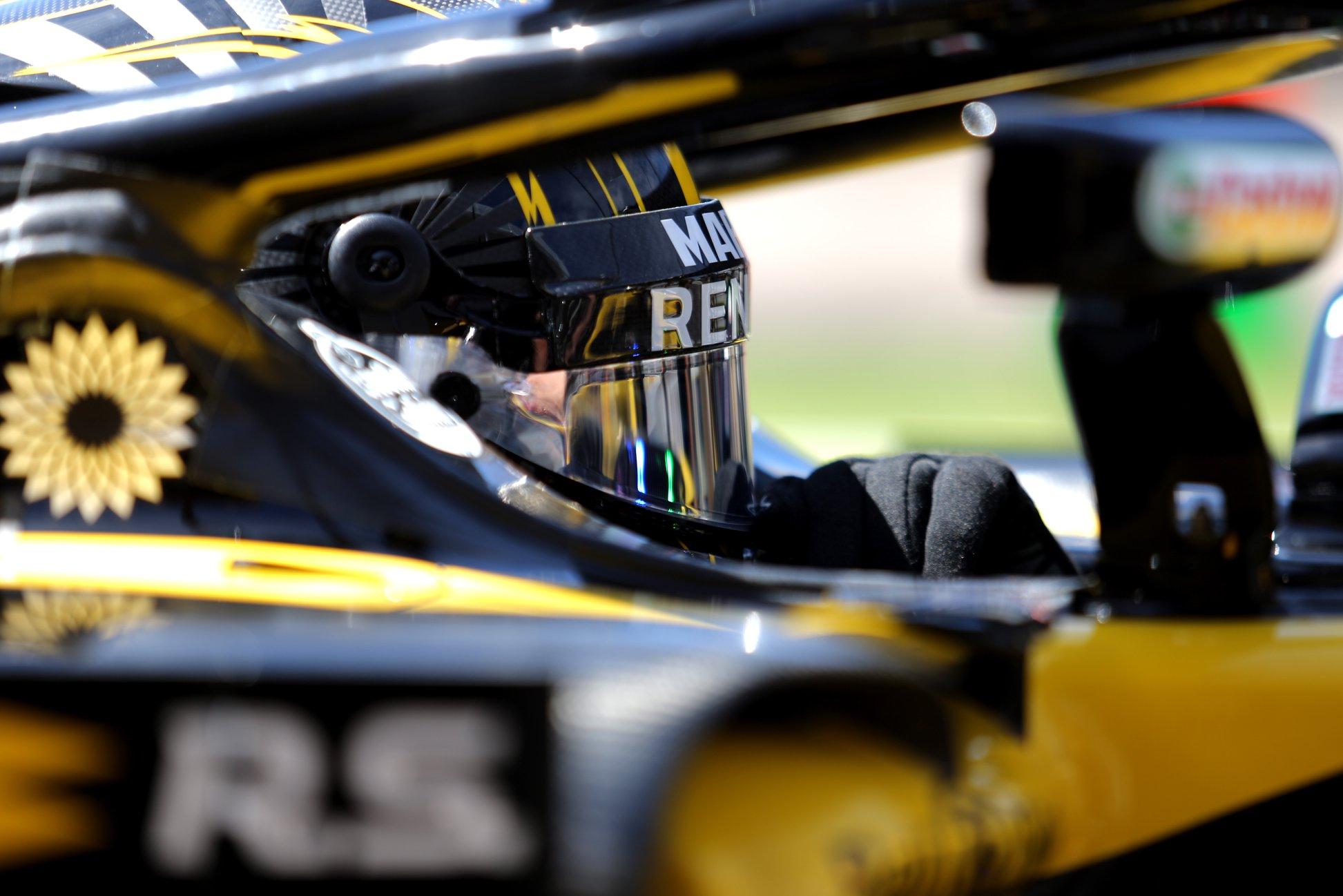 """N. Hulkenbergas patenkintas nauju komandos draugu: tai tik parodo, kaip rimtai yra nusitekusi """"Renault"""""""