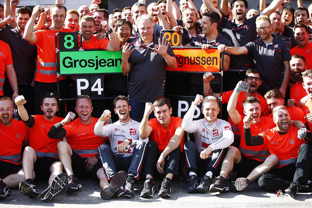 """""""Haas"""": Pirmieji tikri bolido tobulinimo metai pasiteisino"""