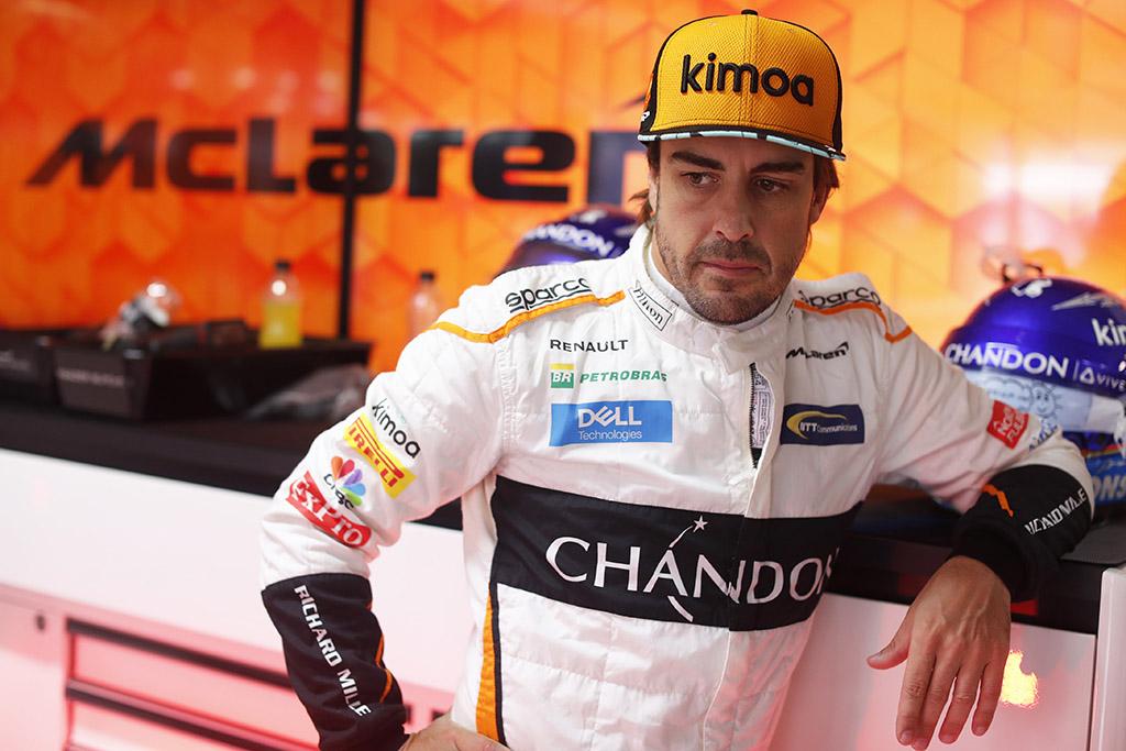 F. Alonso gaus senąją važiuoklę Monzoje