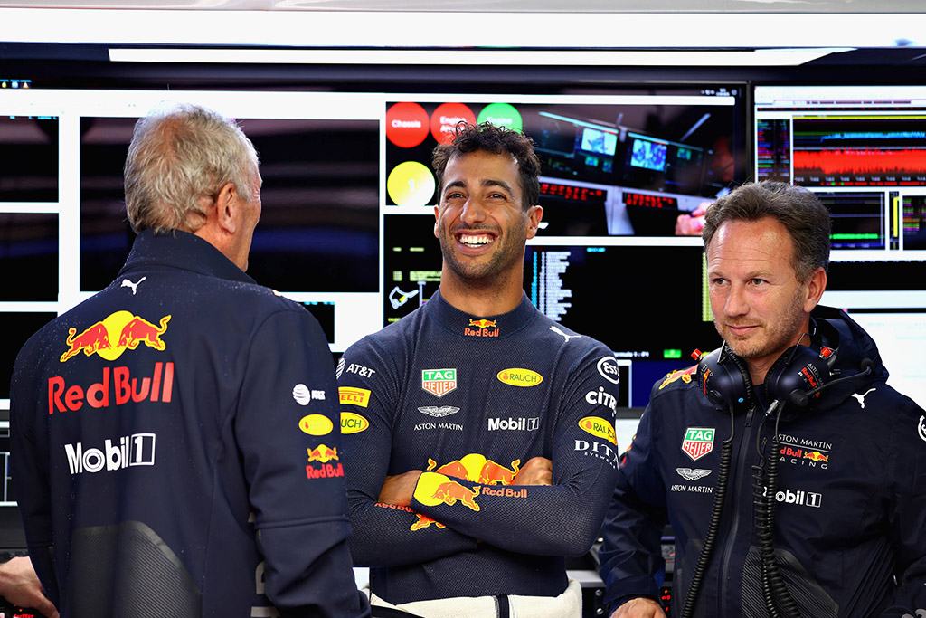 H. Marko: nesuprantu D. Ricciardo sprendimo