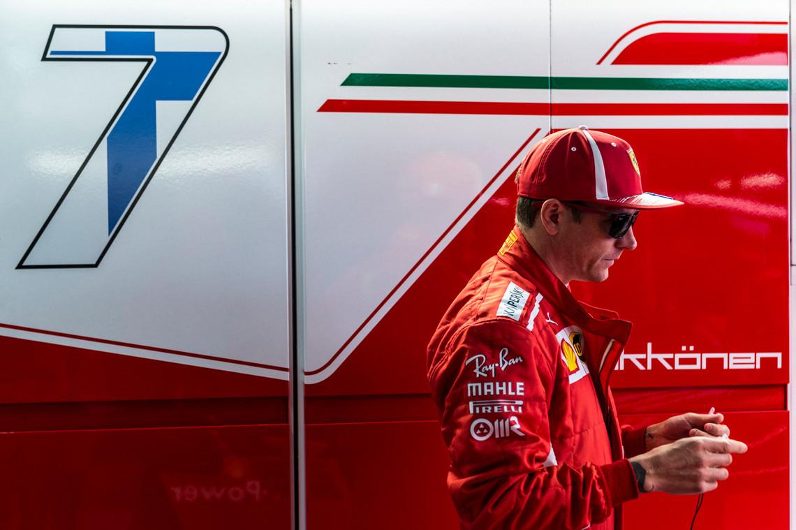 """Po sezono """"Ferrari"""" paliekantis K. Raikkonenas keliasi į """"Sauber"""""""