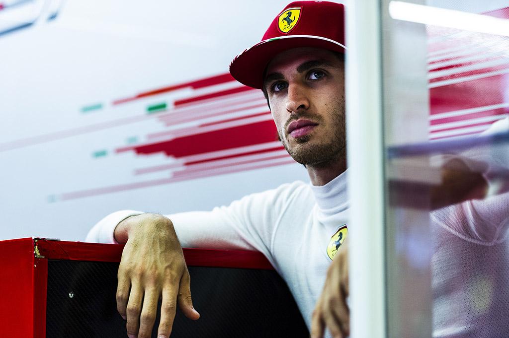 """Sauber"" laukia ""Ferrari"" sprendimo dėl A. Giovinazzi"
