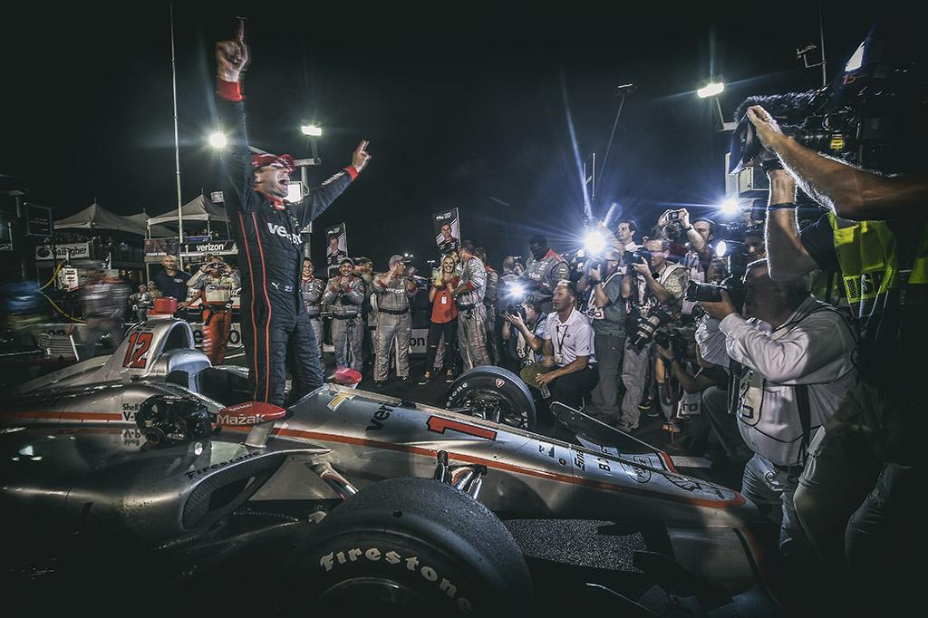 """IndyCar. """"Gateway"""" trasoje - W. Powerio triumfas"""