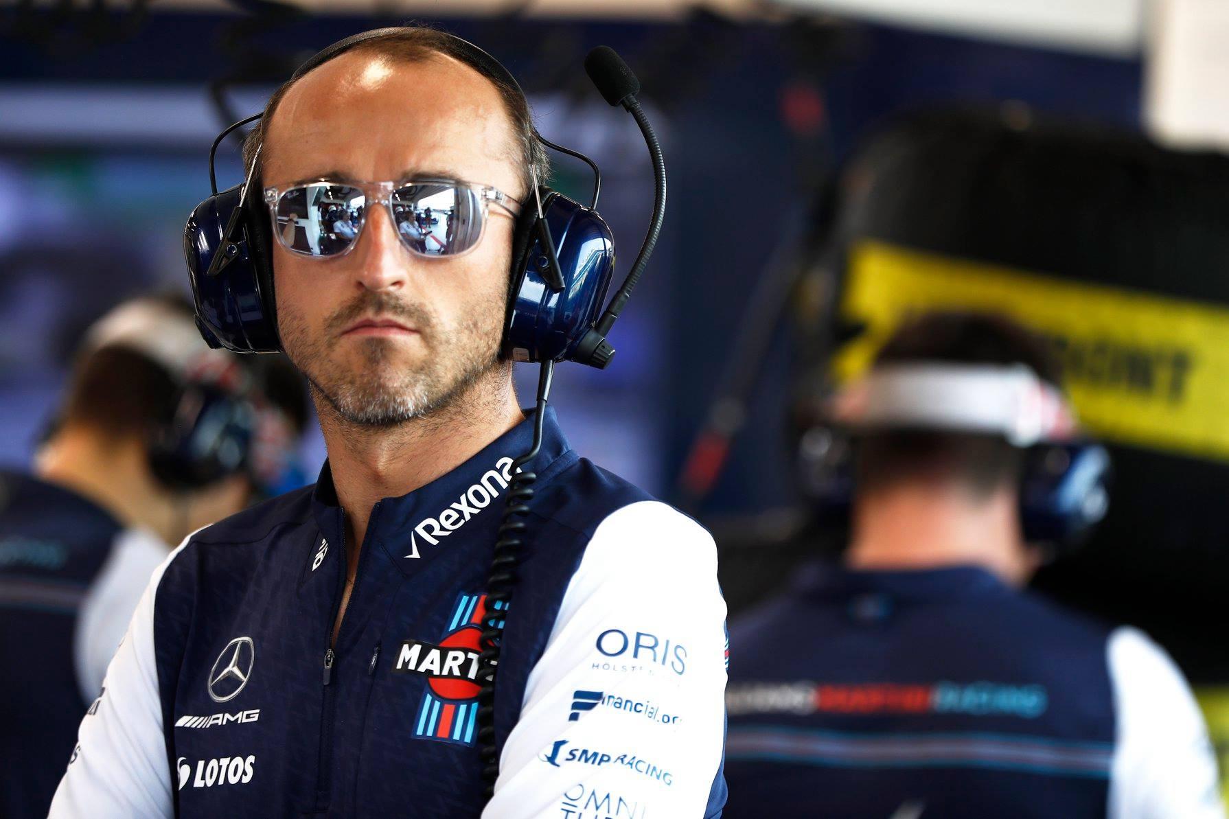 """R. Kubica: kitas tikslas – pasilikti """"Formulėje-1"""""""