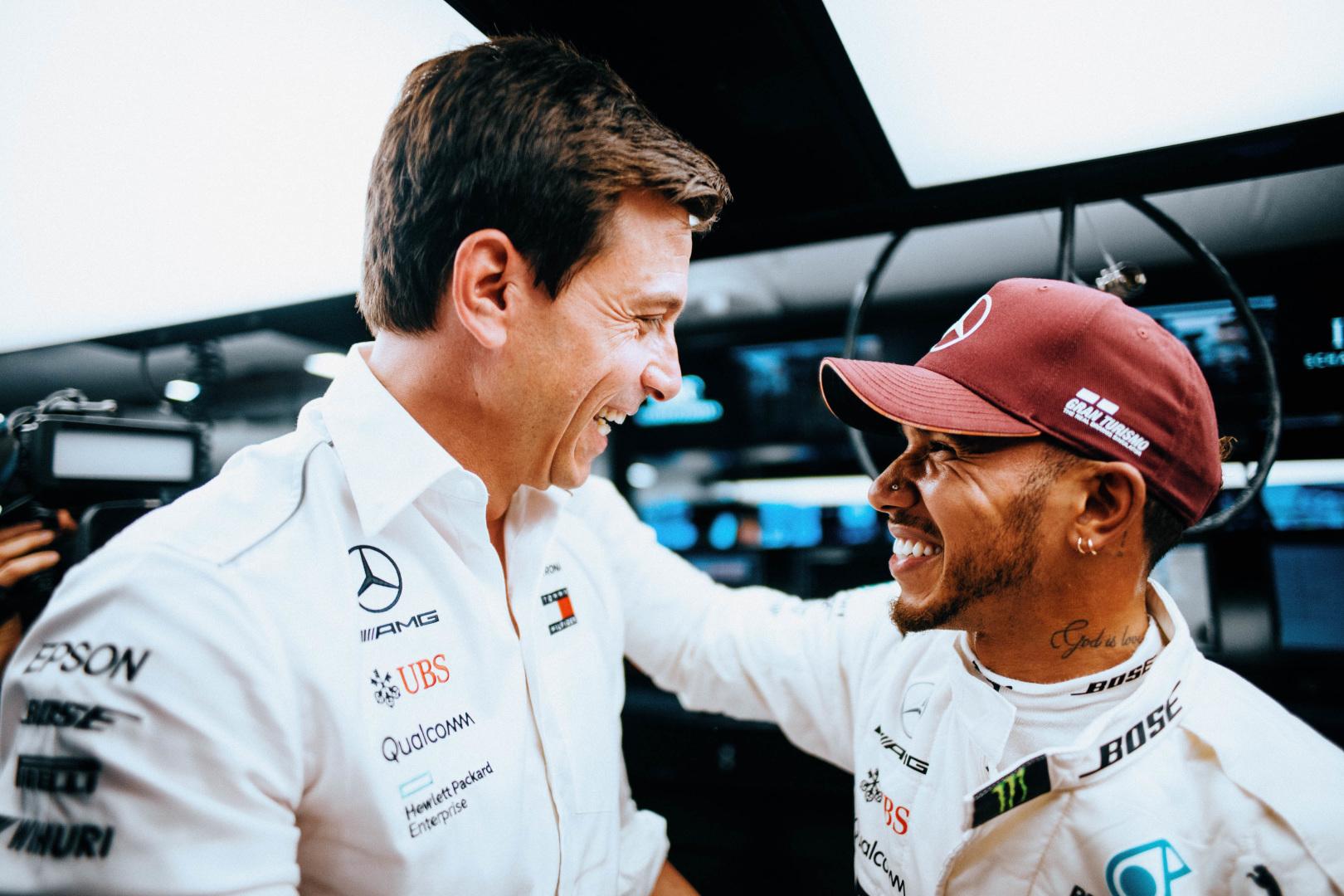 """T. Wolffas: Hamiltonas į """"Ferrari""""? Tokiam atvejui mes turime planą"""
