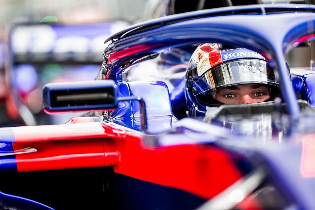 P. Gasly: man pravers konkurencija su M. Verstappenu