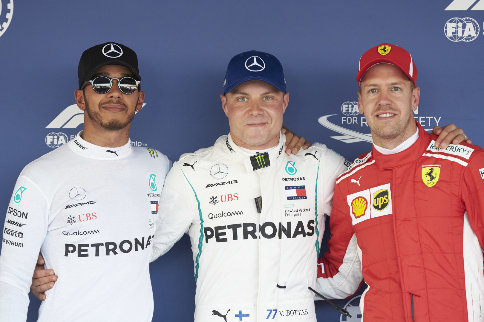 """Rusijoje """"pole"""" poziciją iškovojo V. Bottas"""