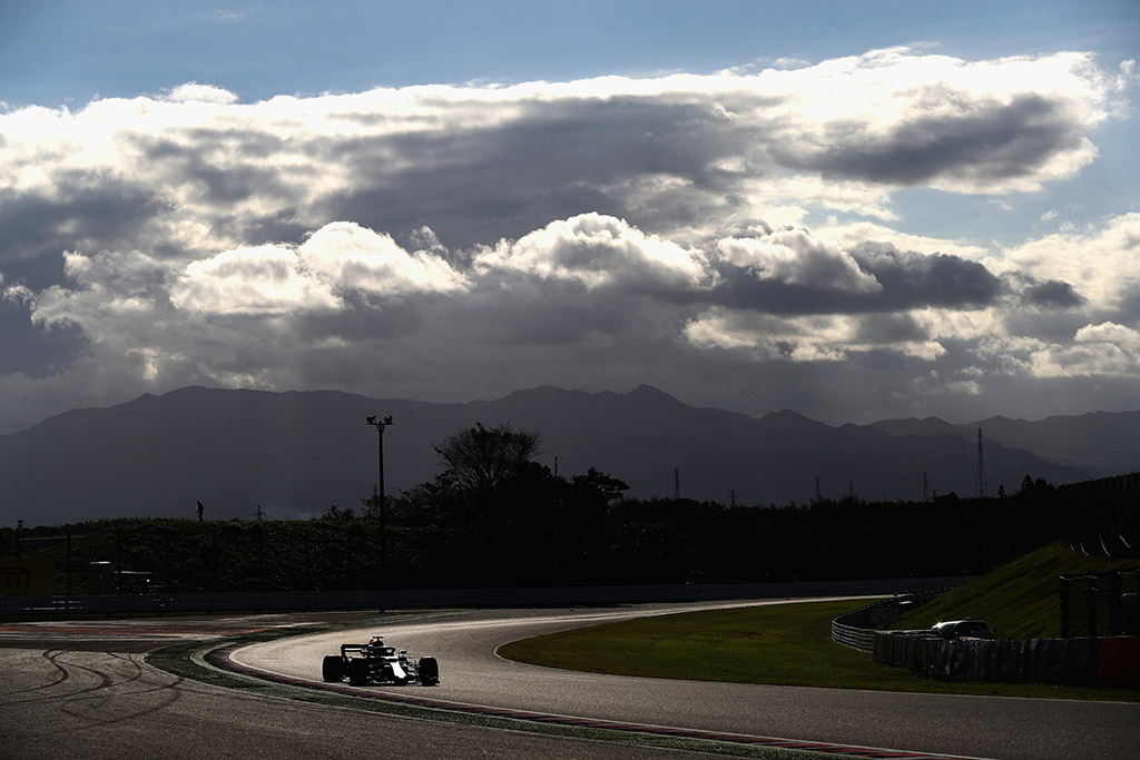 Japonijos GP gresiantis uraganas pasiekė aukščiausią kategoriją