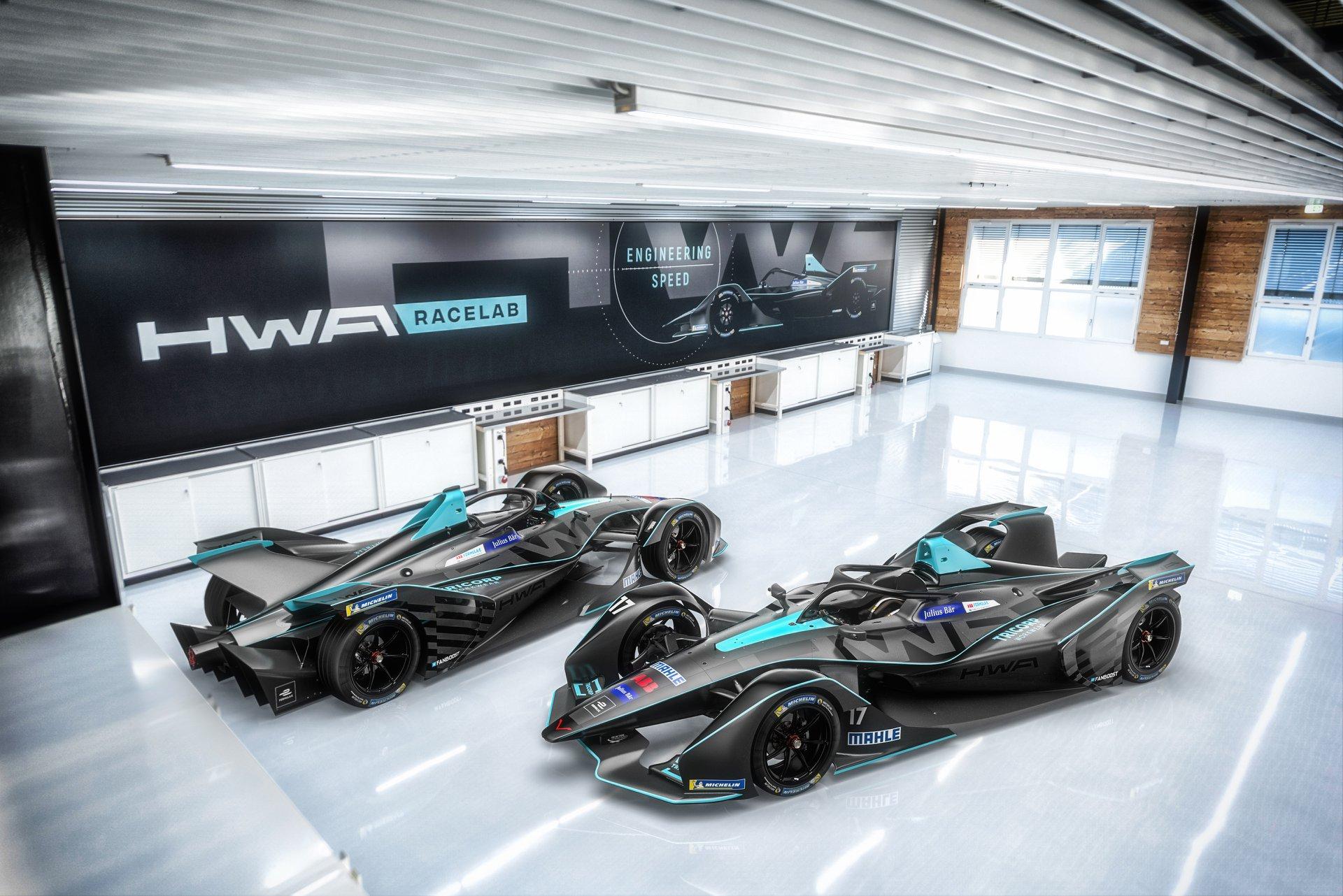 FE. Čempionato debiutantė HWA ir NIO ekipa pristatė naujuosius bolidus