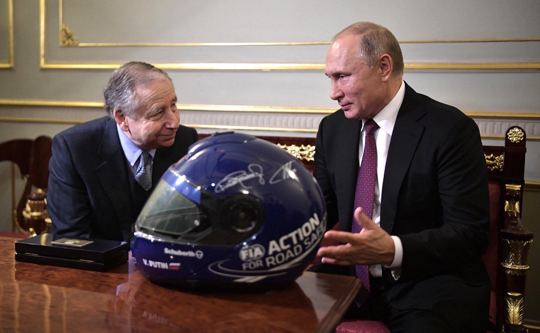 J. Todtas susitiko su V. Putinu aptarti Rusijos automobilių sporto ateities