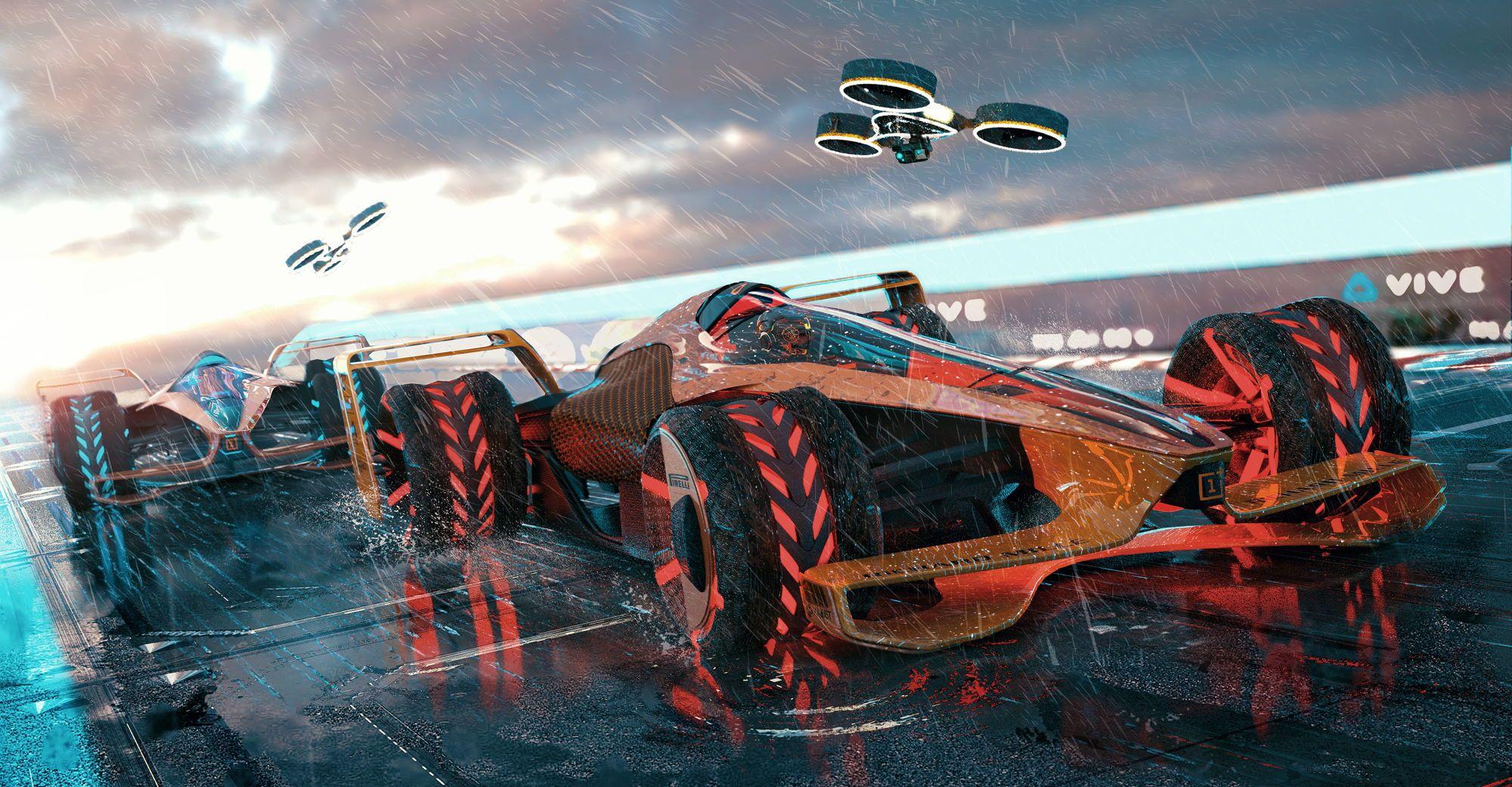 """""""McLaren"""" pademonstravo 2050 m. bolido koncepciją"""
