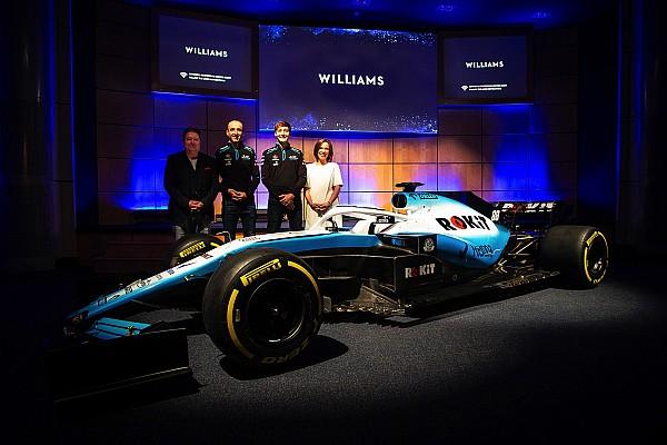 """""""Williams"""" parodė naujas bolido išdažymo spalvas"""