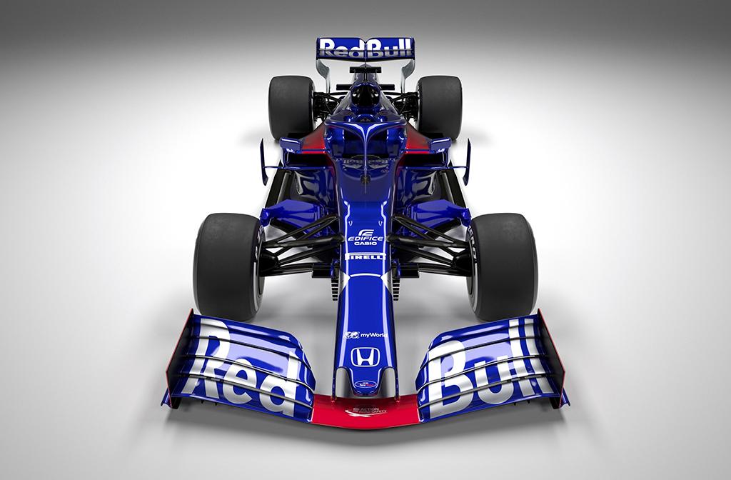 """Pristatytas naujo sezono """"Toro Rosso"""" bolidas"""