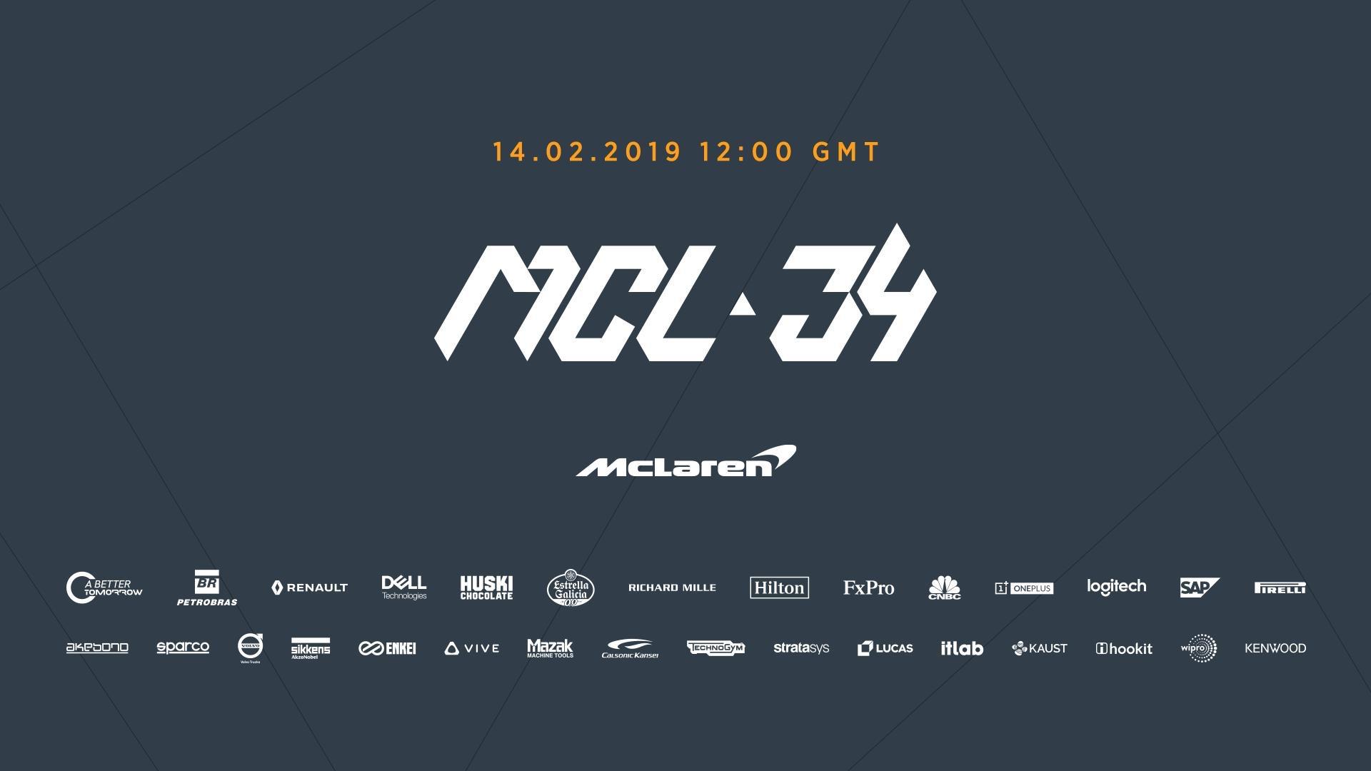 """""""McLaren"""" bolido pristatymas - tiesioginė transliacija"""