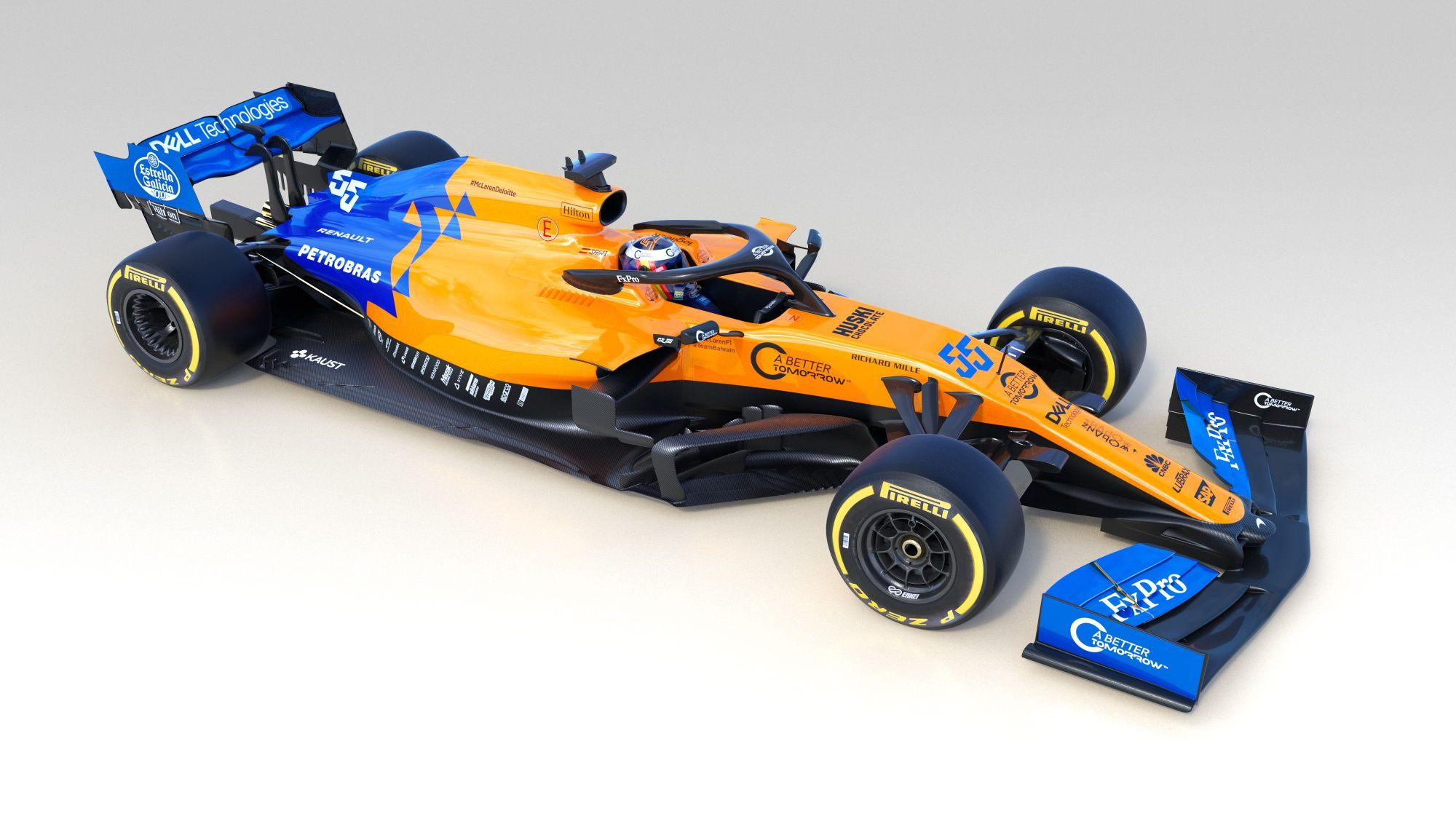 """""""McLaren"""" oficialiai pristatė savo naujausią bolidą"""