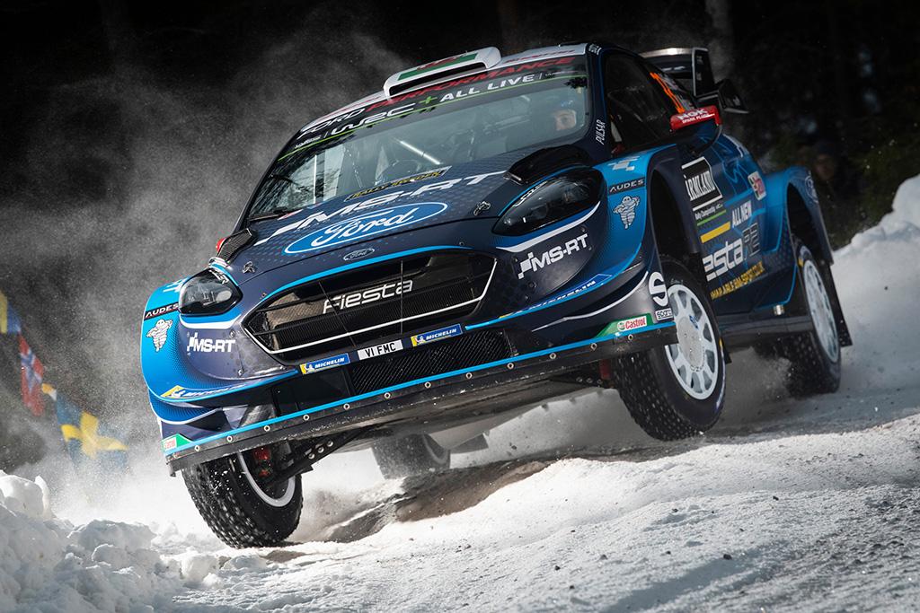 WRC. Švedijos ralio lyderiu tapo T. Suninenas