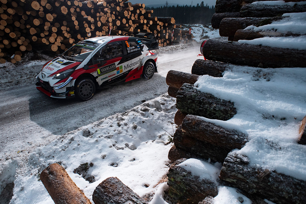 WRC. Švedijoje pergalę iškovojęs O. Tanakas tapo čempionato lyderiu