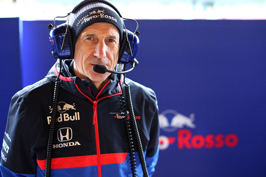 """F. Tostas: """"Toro Rosso"""" vaidmuo lieka tas pats"""