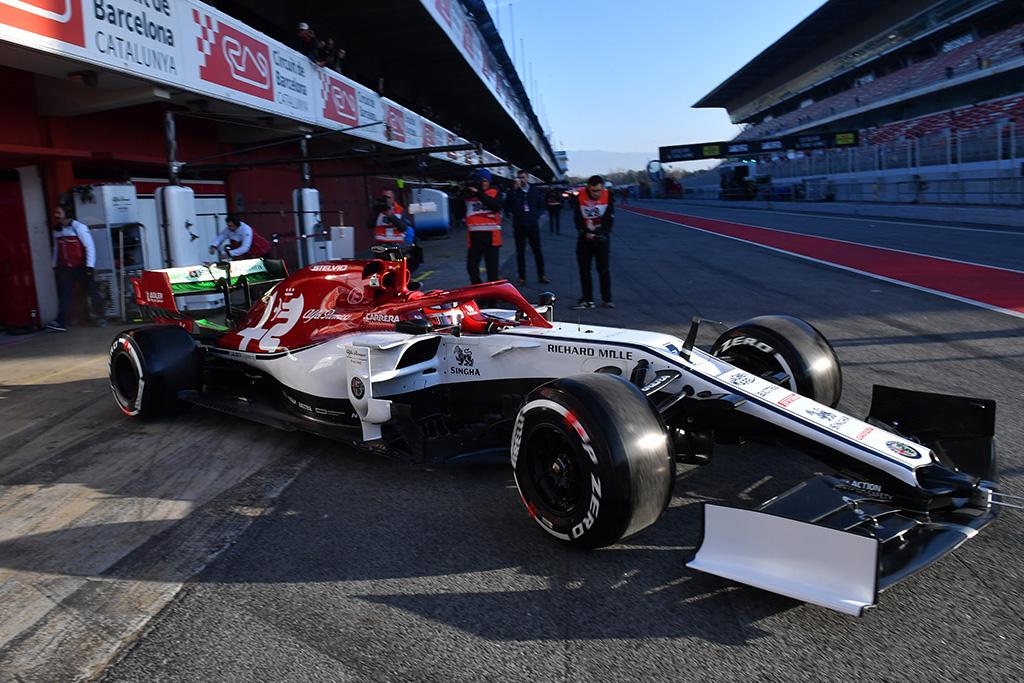 Greičiausias trečiadienio rytą buvo Kimis Raikkonenas