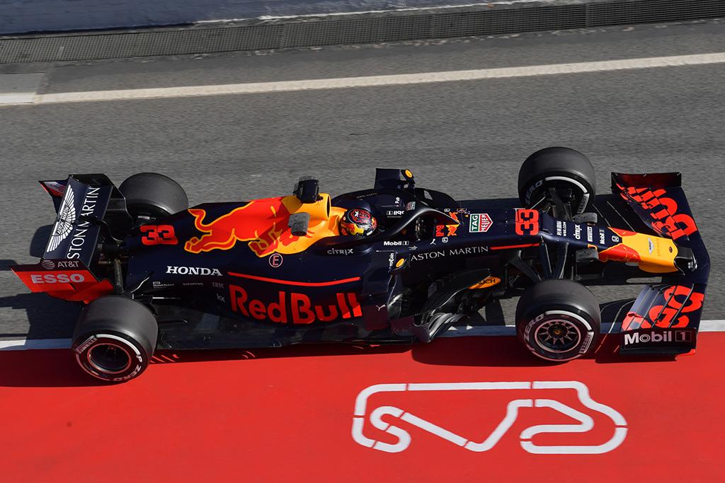 """M. Verstappenas: esu labai patenkintas """"Honda"""" varikliu"""