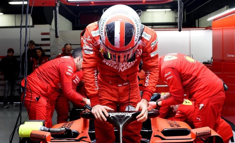 Antradienio ryte geriausią rezultatą Barselonoje užfiksavo C. Leclercas