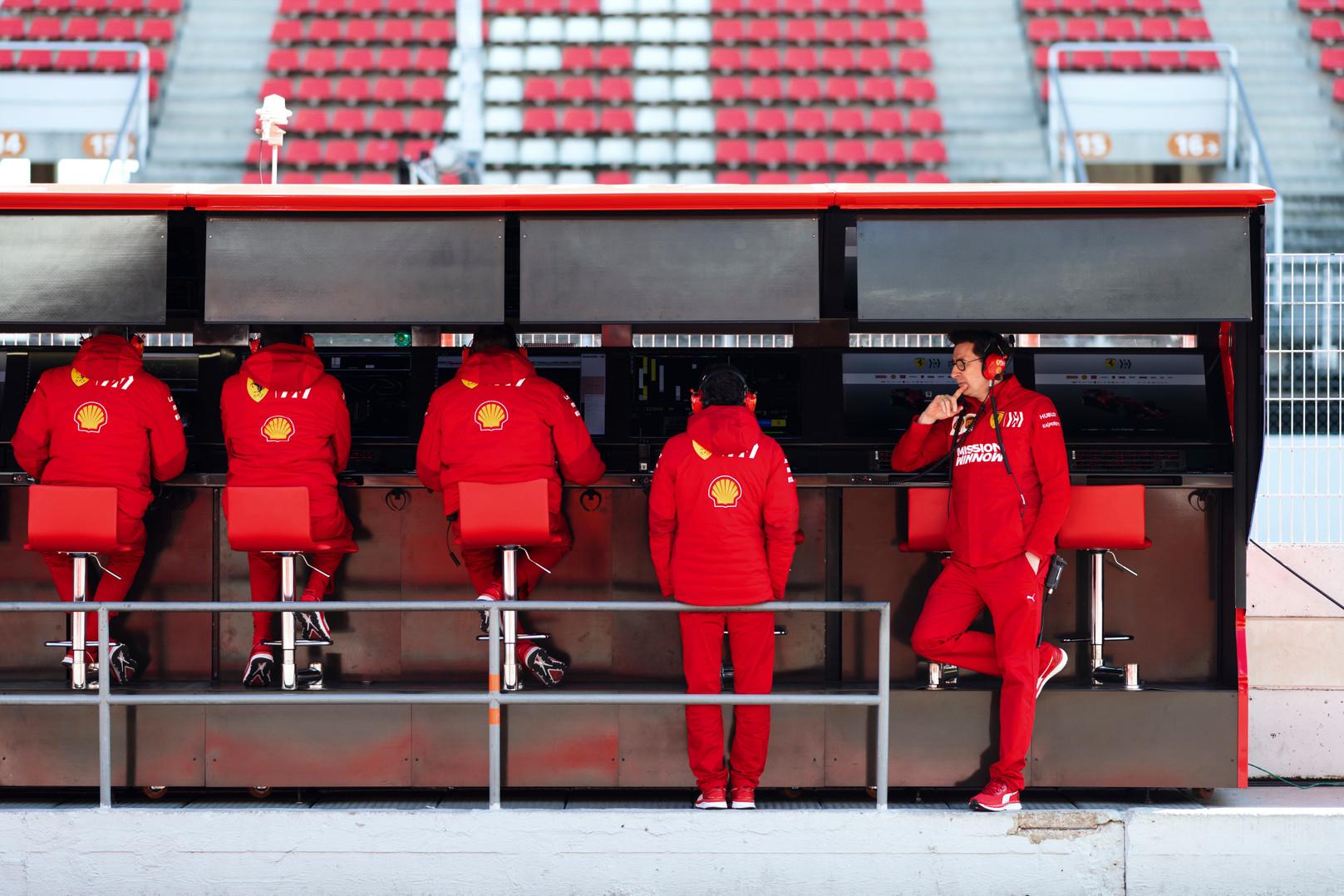 R. Schumacheris: atleisti M. Binotto dabar nėra prasmės
