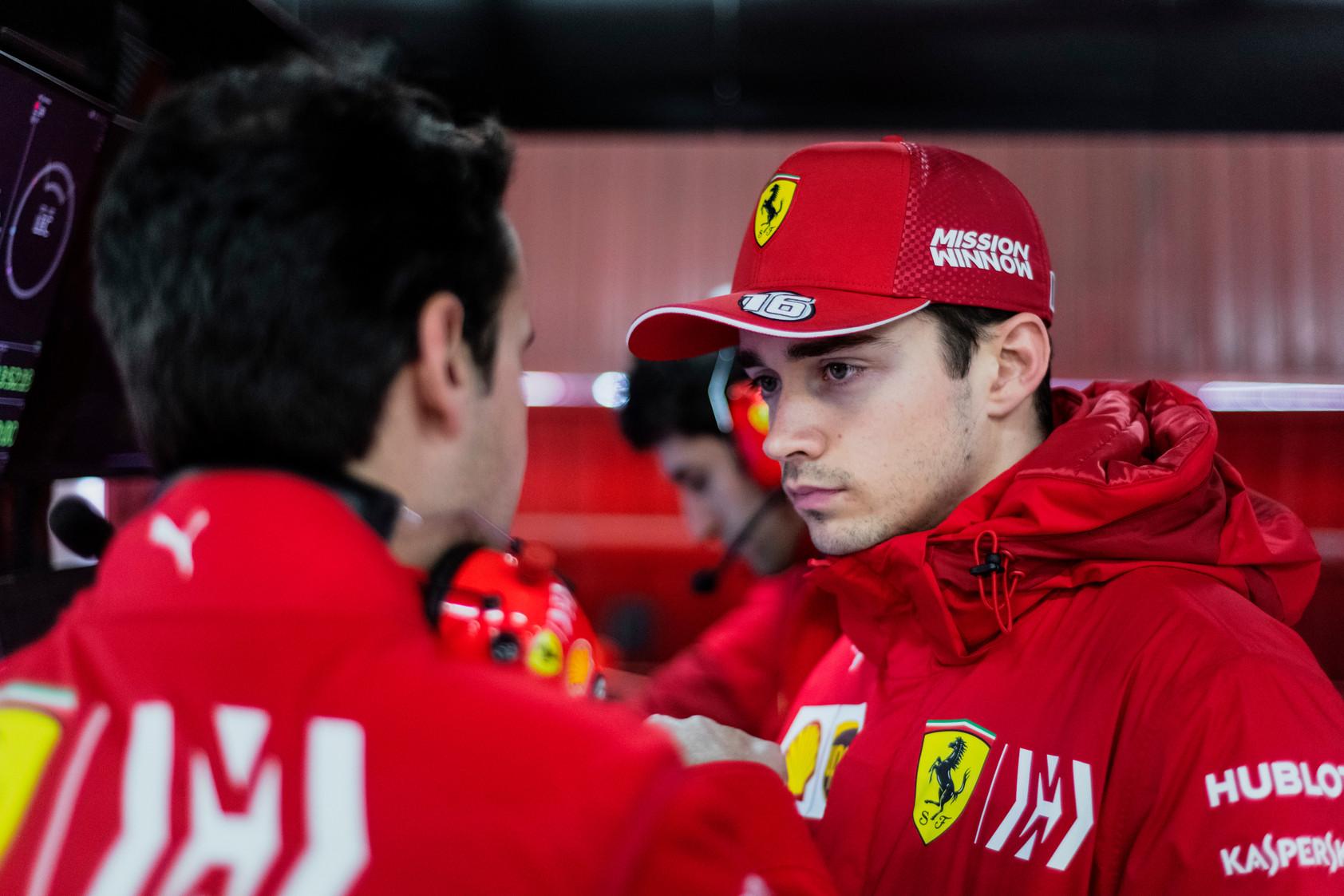 C. Leclercas yra pasirengęs padėti S. Vetteliui