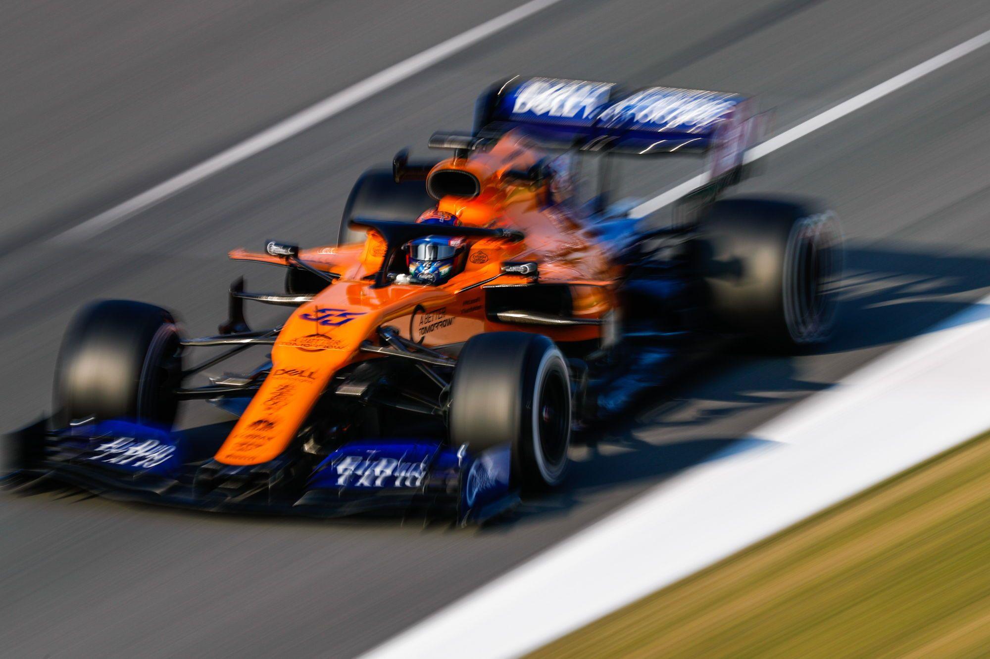 "C. Sainzas: man komfortiška ""McLaren"""