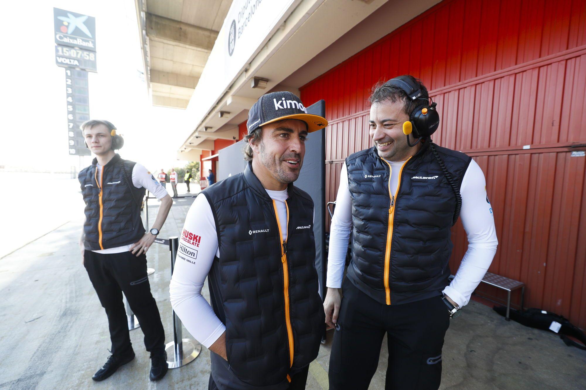 "F. Alonso: ""F-1 ""McLaren"" bandymai – mano darbo dalis"