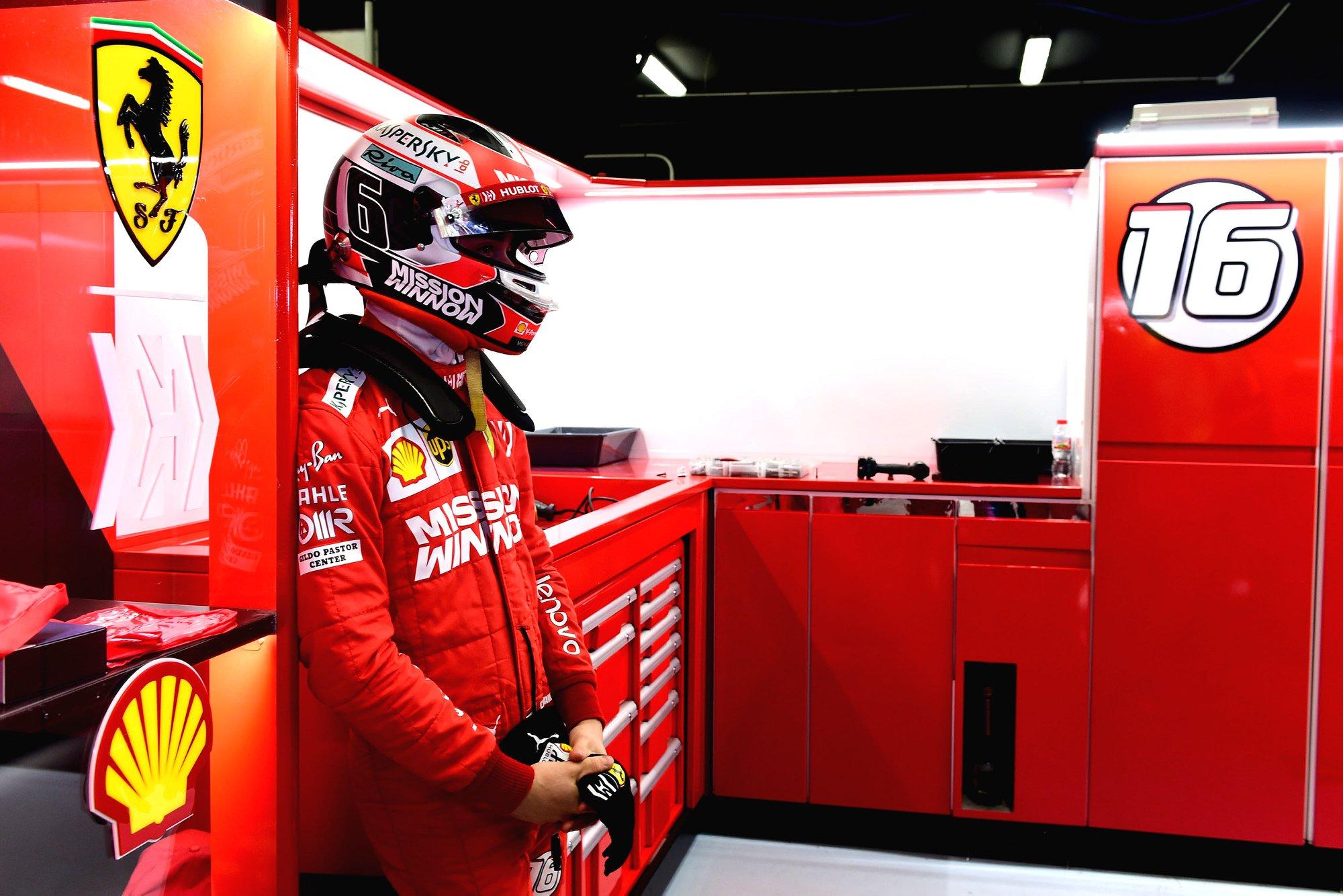R. Brawnas abejoja C. Leclerco galimybės rimtai pasipriešinti S. Vetteliui