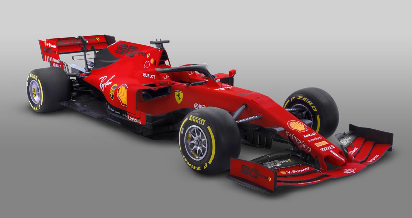 """""""Ferrari"""" atskleidė pakoreguotą bolido išdažymą"""
