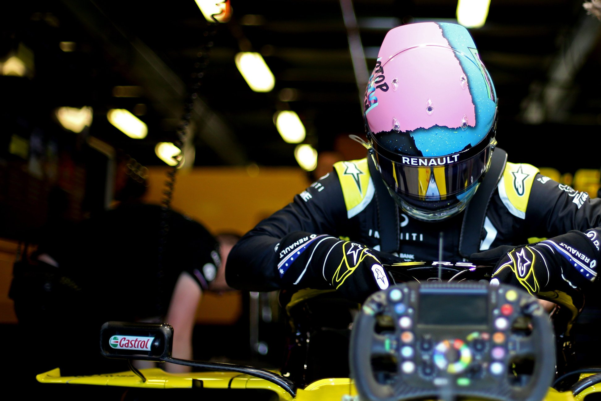 """D. Ricciardo: tikrai nesigailiu, kad perėjau į """"Renault"""" komandą"""