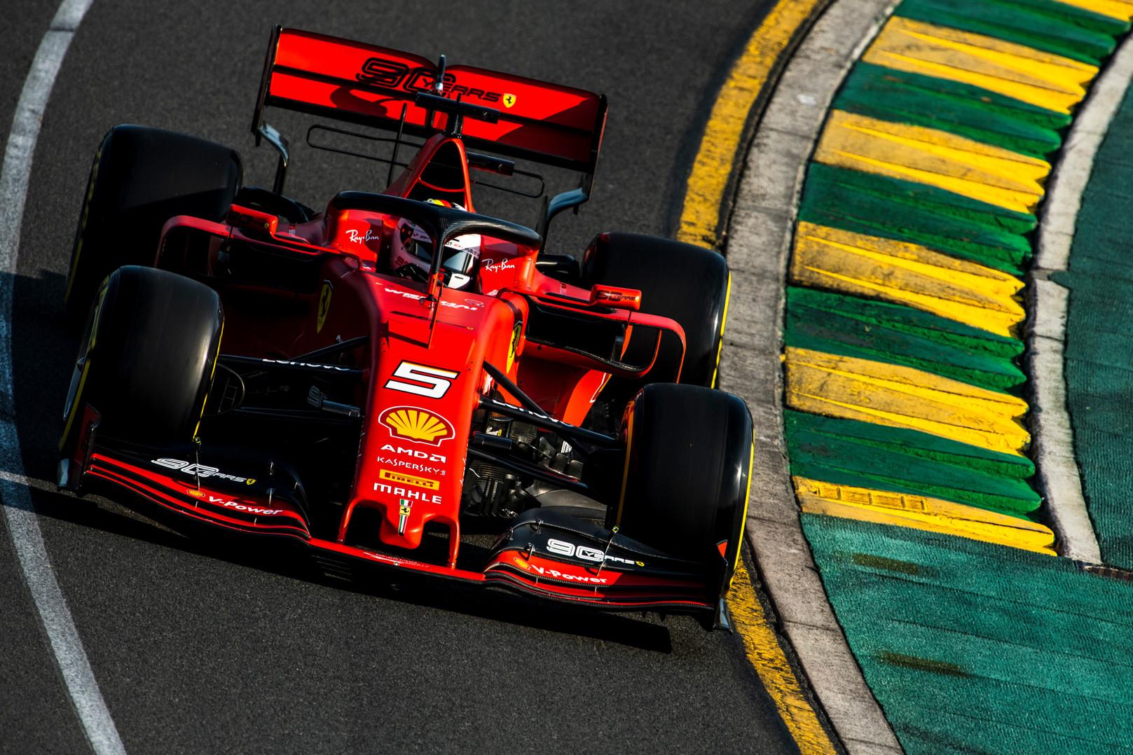 S. Vettelis tikisi sulaukti spaudimo iš C. Leclerco viso sezono metu