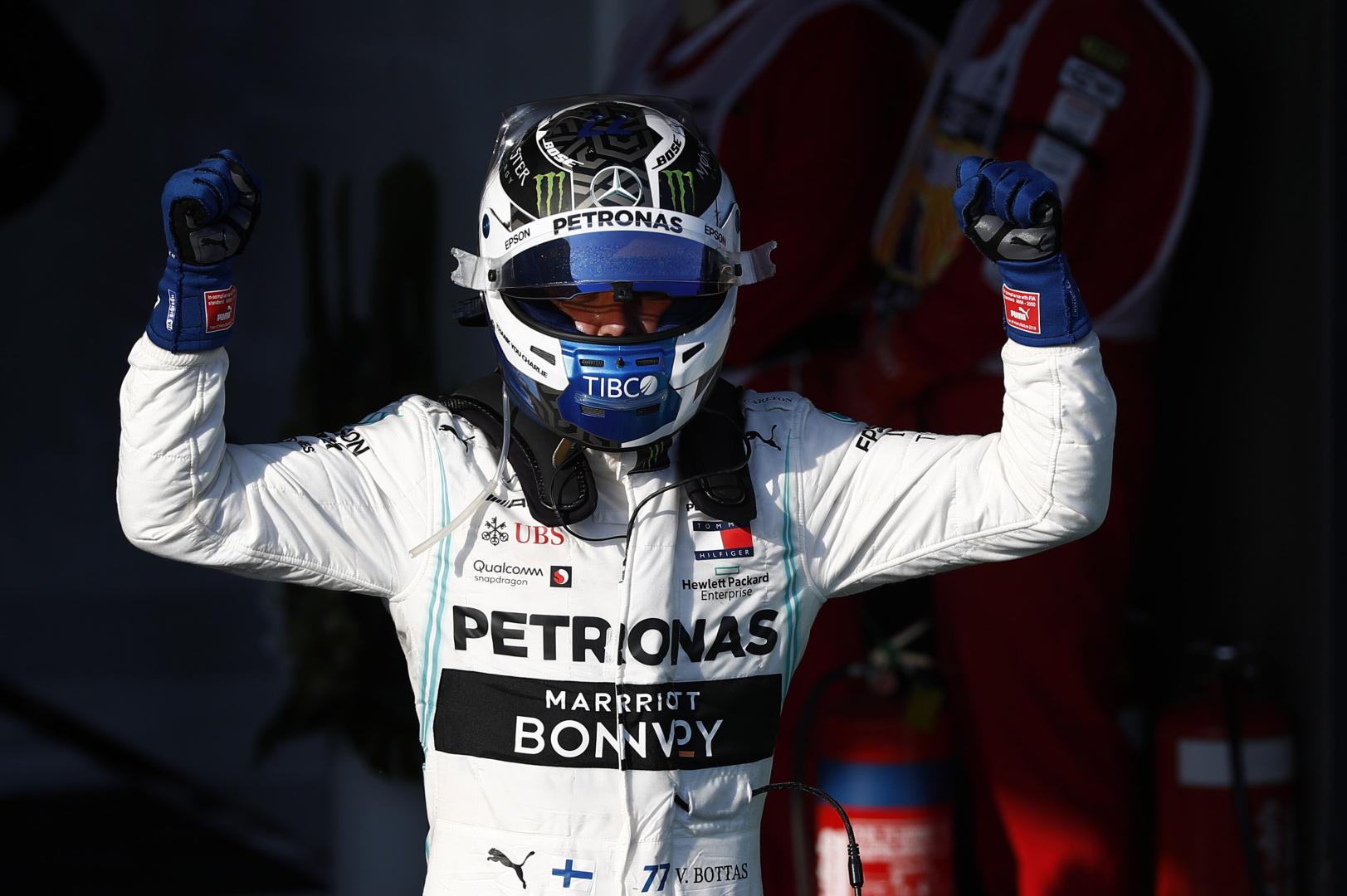 N. Rosbergas: V. Bottas gali tapti čempionu 2019 metais