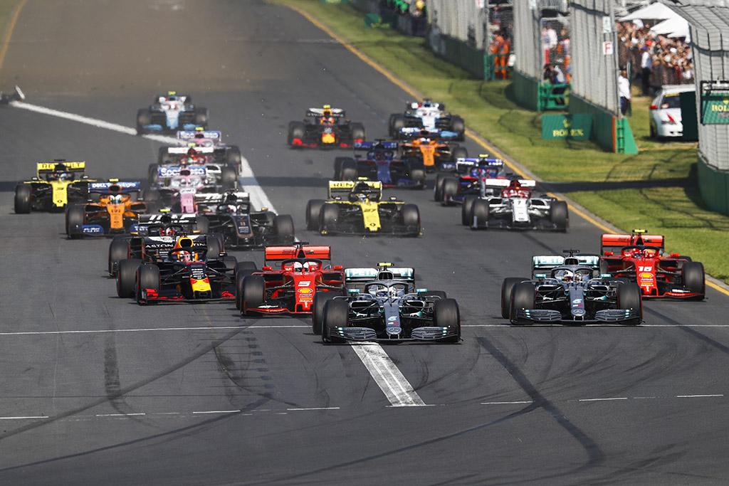 J. Palmeris: L. Hamiltonas Melburne padarė klaidą startuodamas