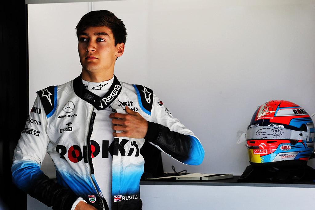 """G. Russellas: """"Red Bull"""" jaunieji pilotai jaučia didesnį spaudimą"""